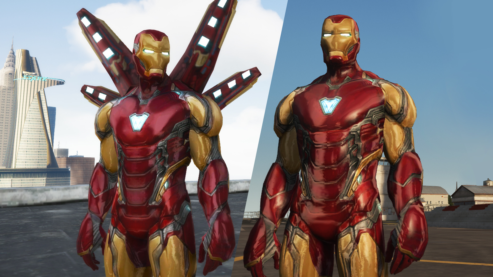 Iron Man MK85 (Metallic) - GTA5-Mods com