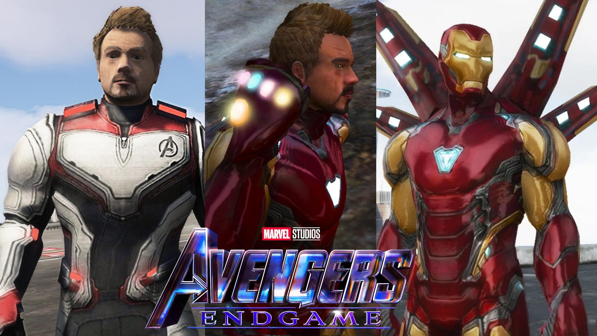 Iron Man MK85 Avengers Endgame - GTA5-Mods com