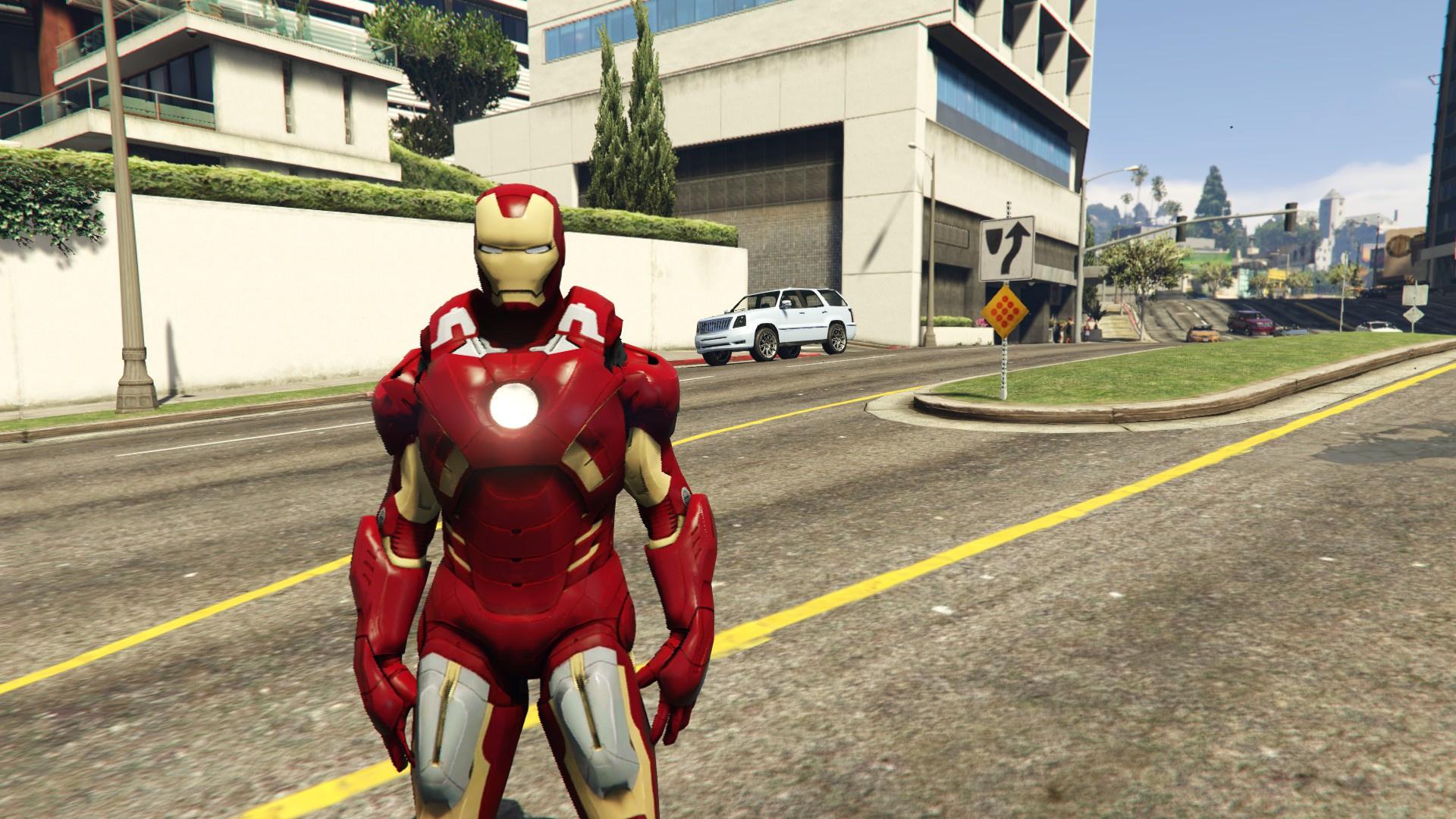 Iron Man Mark7 (Avengers) [Add-On Ped] - GTA5-Mods com