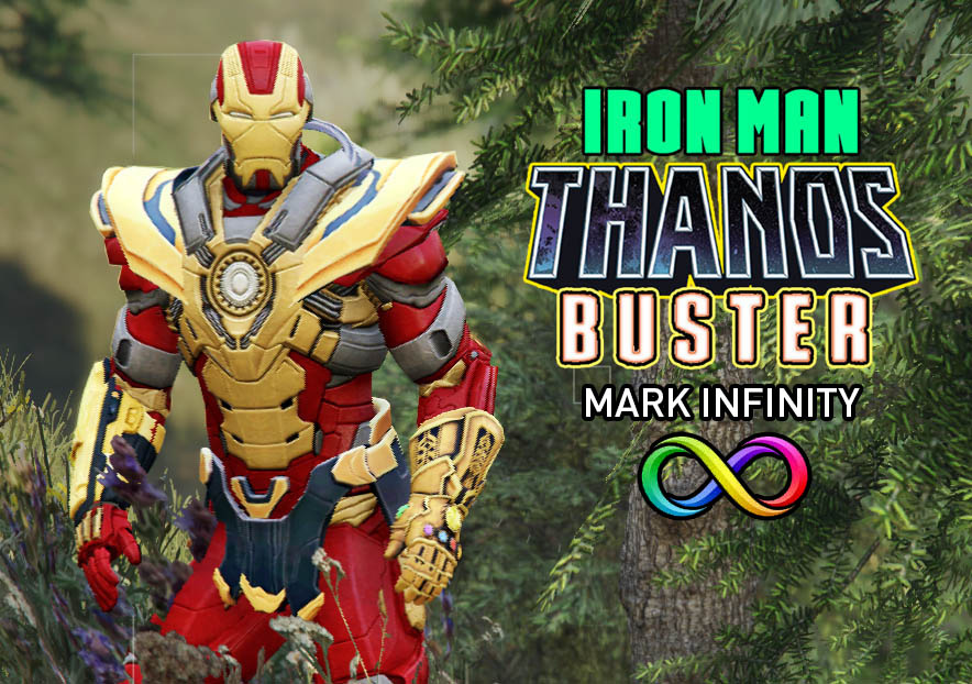 IRON MAN - THANOS BUSTER + CUSTOM HUD - GTA5-Mods com
