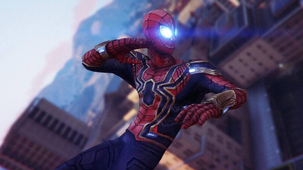 Infinity War Screenshots >> Iron Spider (Avengers Infinity War) [Emissive Add-On] - GTA5-Mods.com