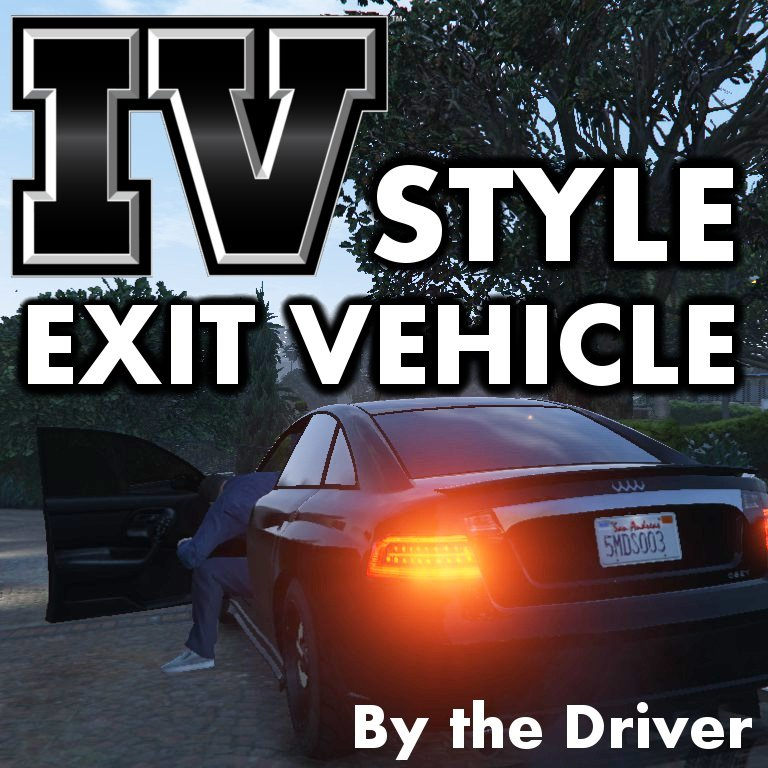 IV Style Exit Vehicle (Engine on/off) - GTA5-Mods com