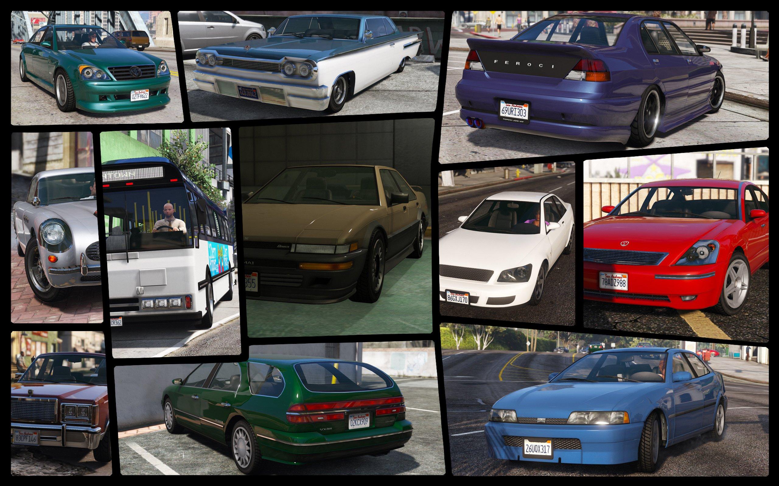 IVPack - GTA IV vehicles in GTA V - GTA5-Mods com