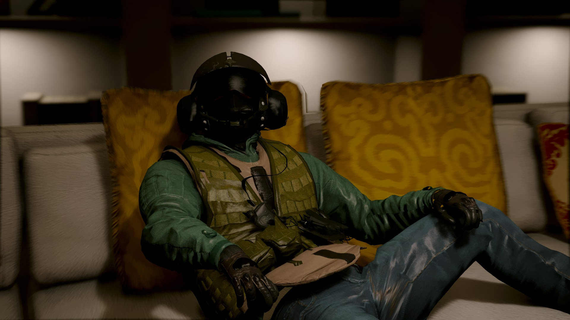 Jager From R6 Siege Add On Replace Gta5 Mods Com
