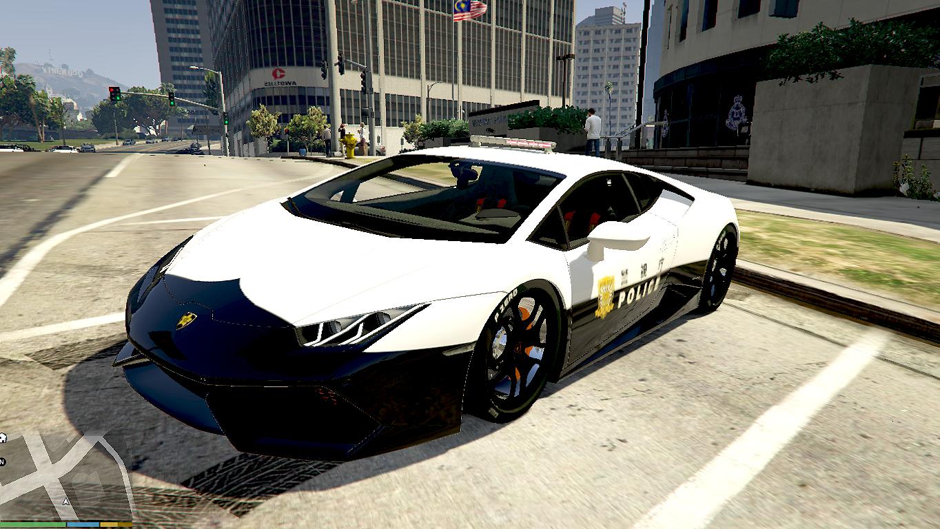 Japanese Police Lamborghini Huracan - GTA5-Mods.com