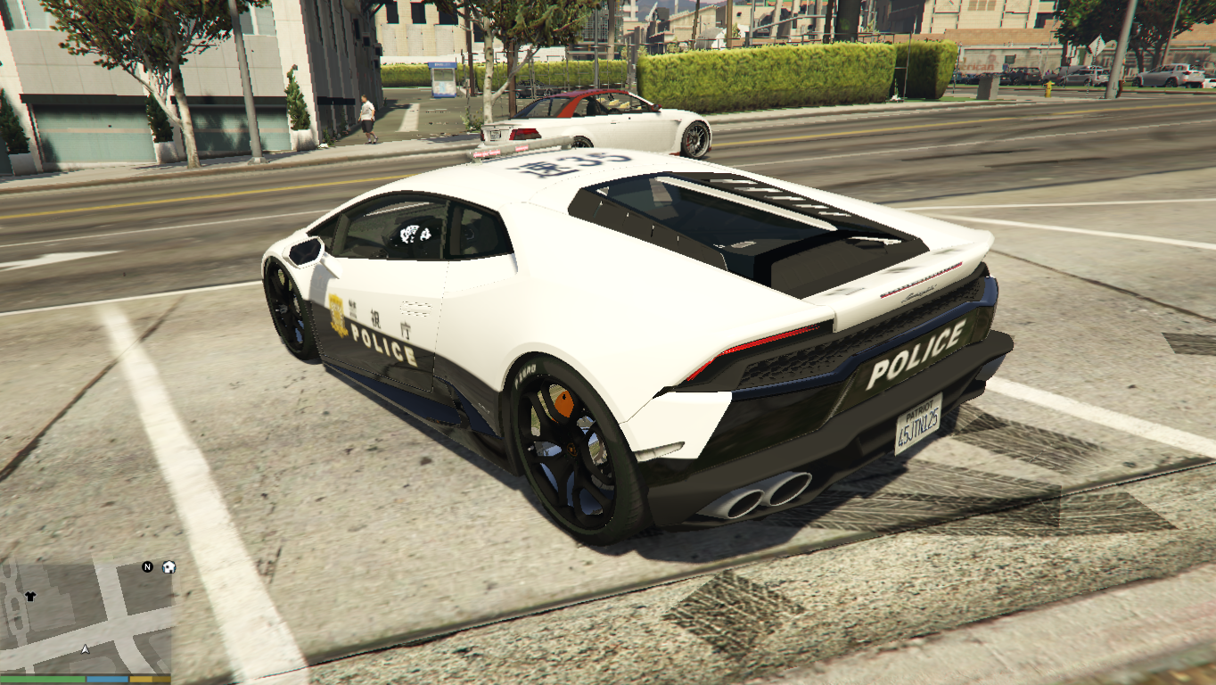 japanese police lamborghini huracan gta5. Black Bedroom Furniture Sets. Home Design Ideas