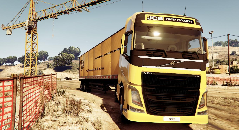 JCB Truck and Trailer Liveries - GTA5-Mods.com