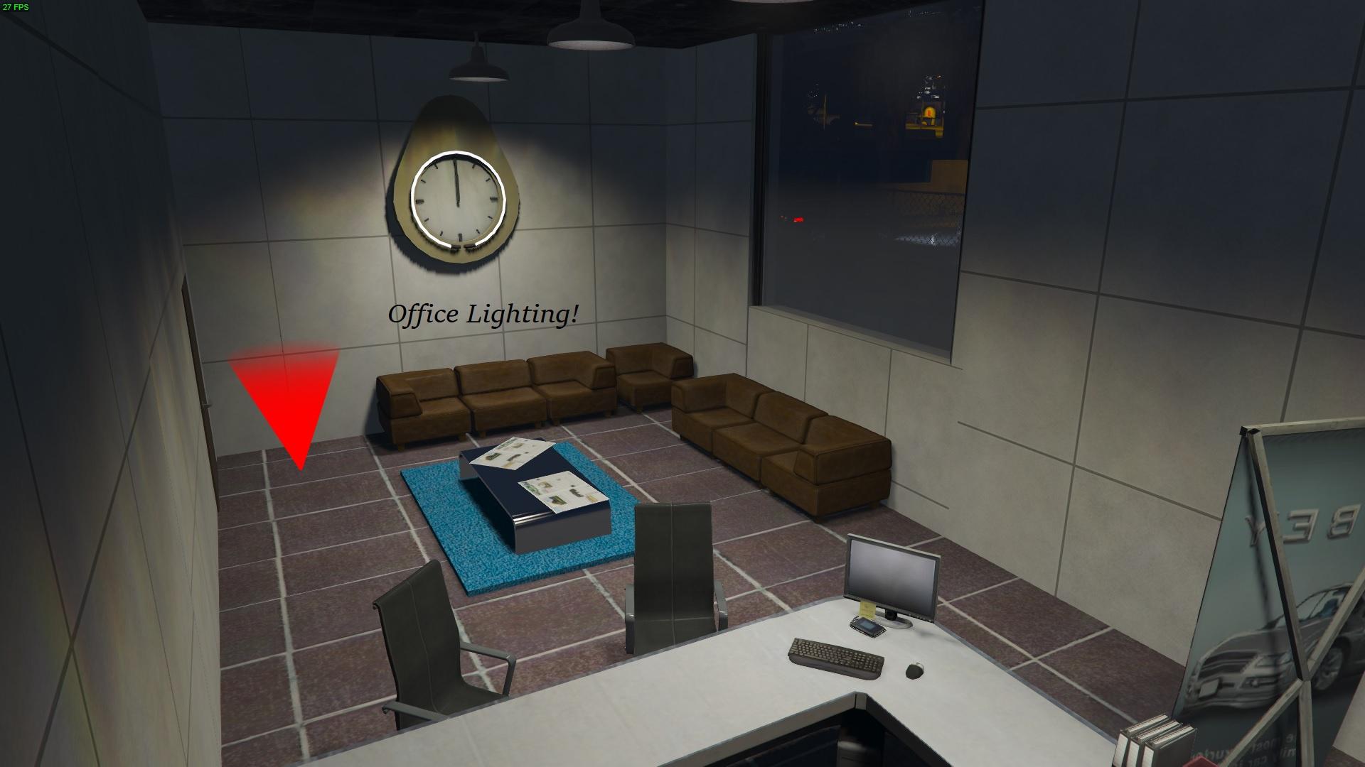 how to add garage gta office