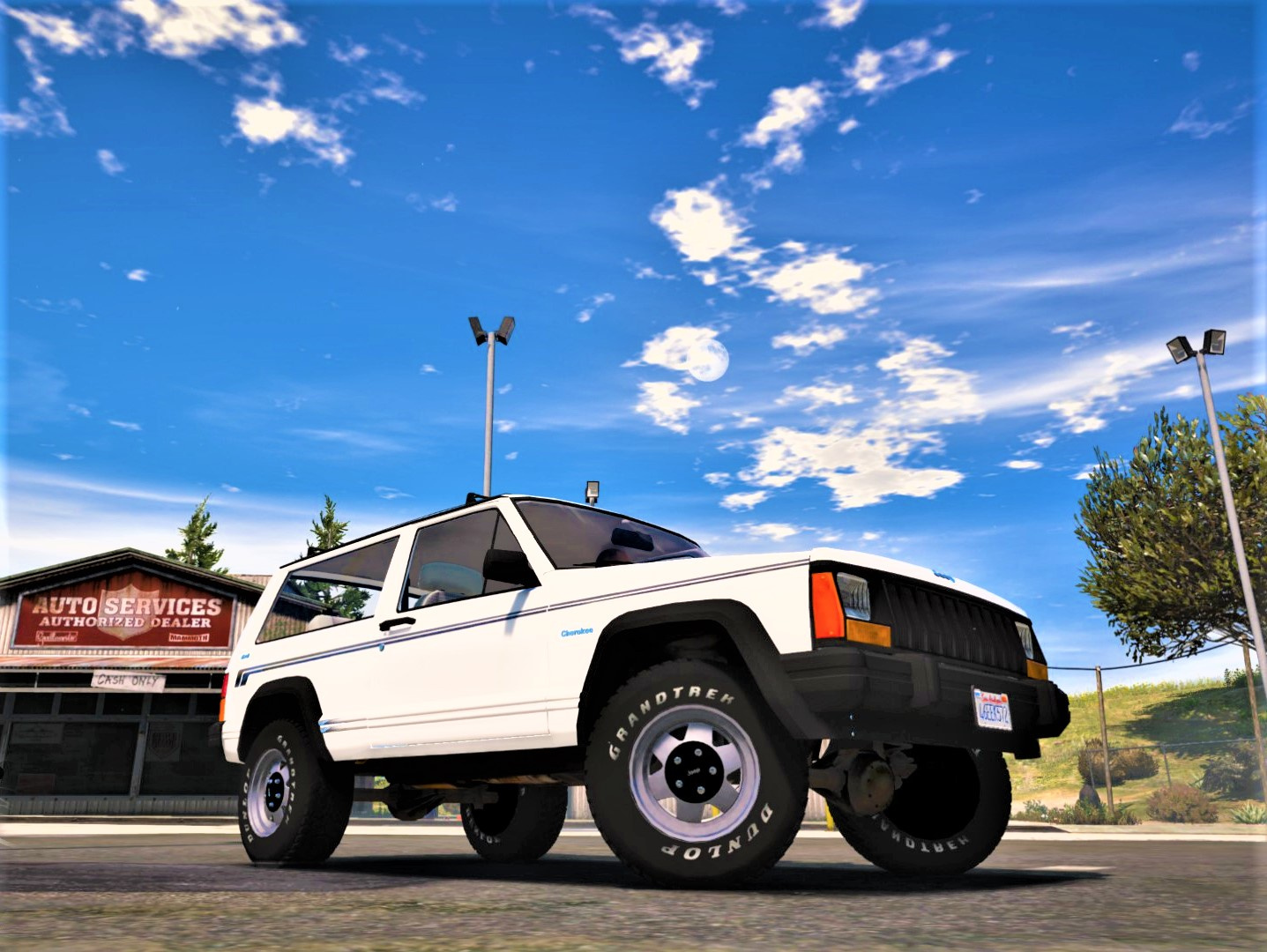 jeep cherokee xj 1996 add on replace livery extras. Black Bedroom Furniture Sets. Home Design Ideas
