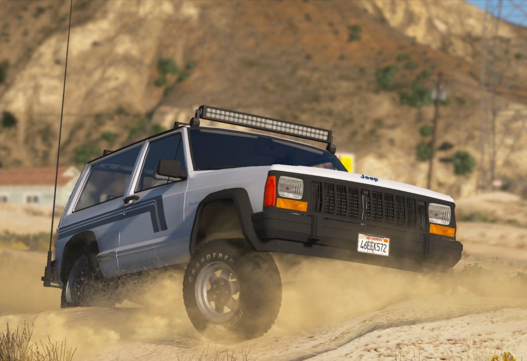 Jeep Cherokee XJ 1996 [Add-On | Replace | Livery | Extras | Dirt