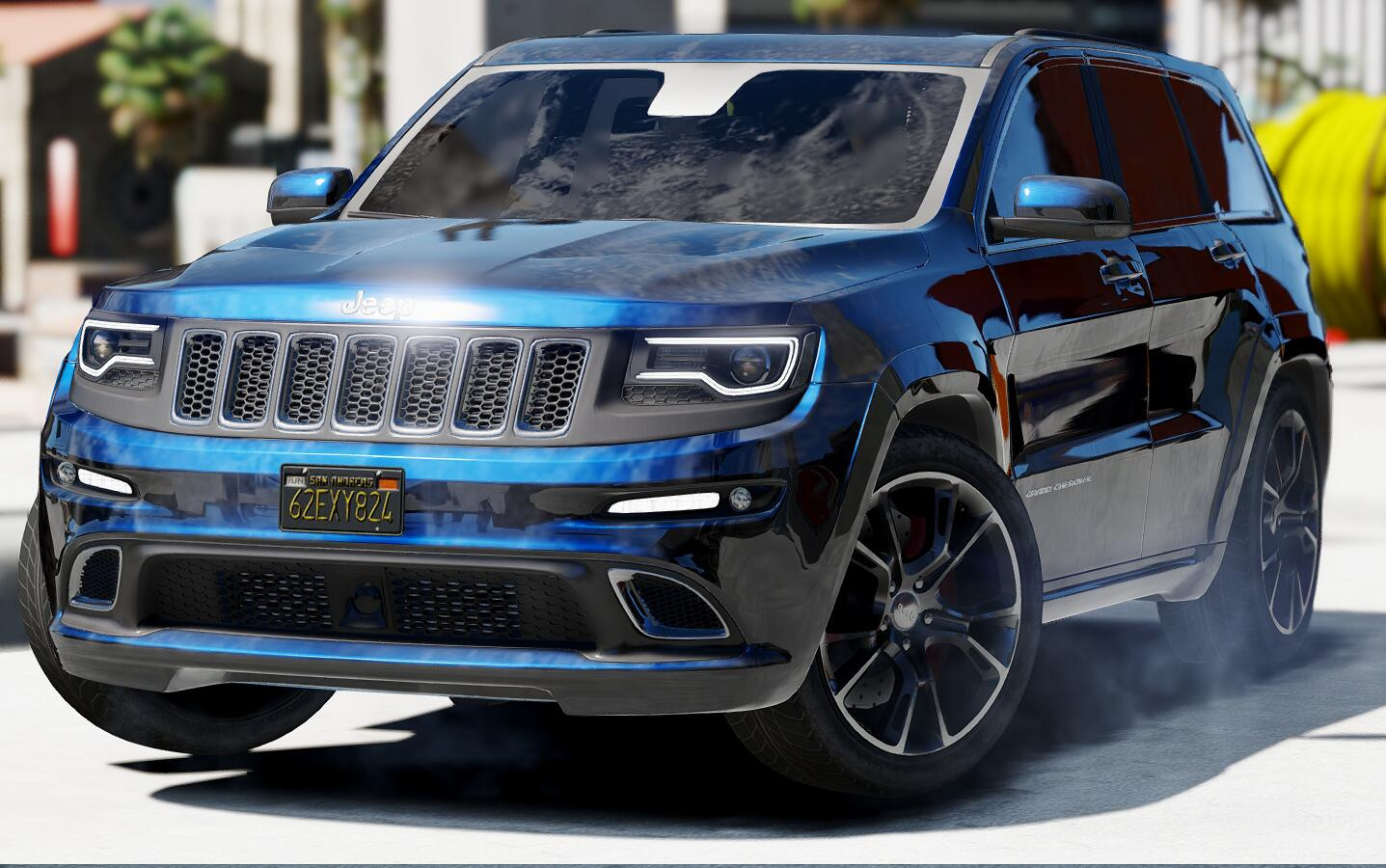 2014 jeep grand cherokee srt gta5. Black Bedroom Furniture Sets. Home Design Ideas