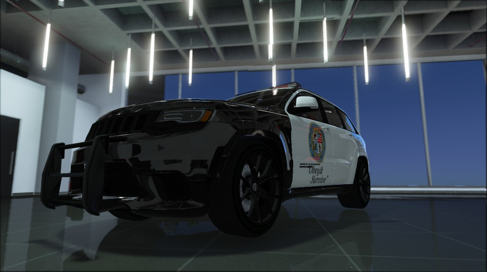 Jeep Grand Cherokee Srt 8 Trackhawk Lspd Add On Template Gta5 Mods Com