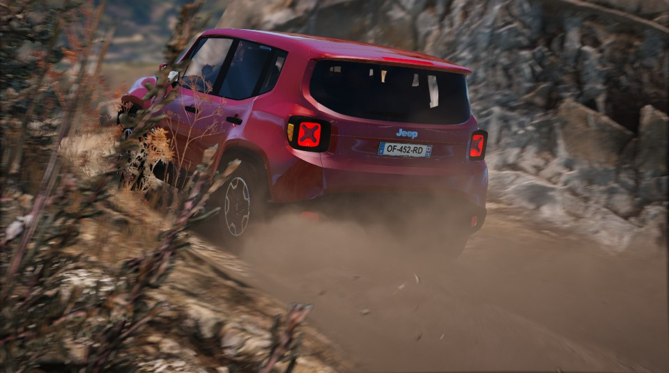 Jeep Renegade Add On Gta5 Mods Com