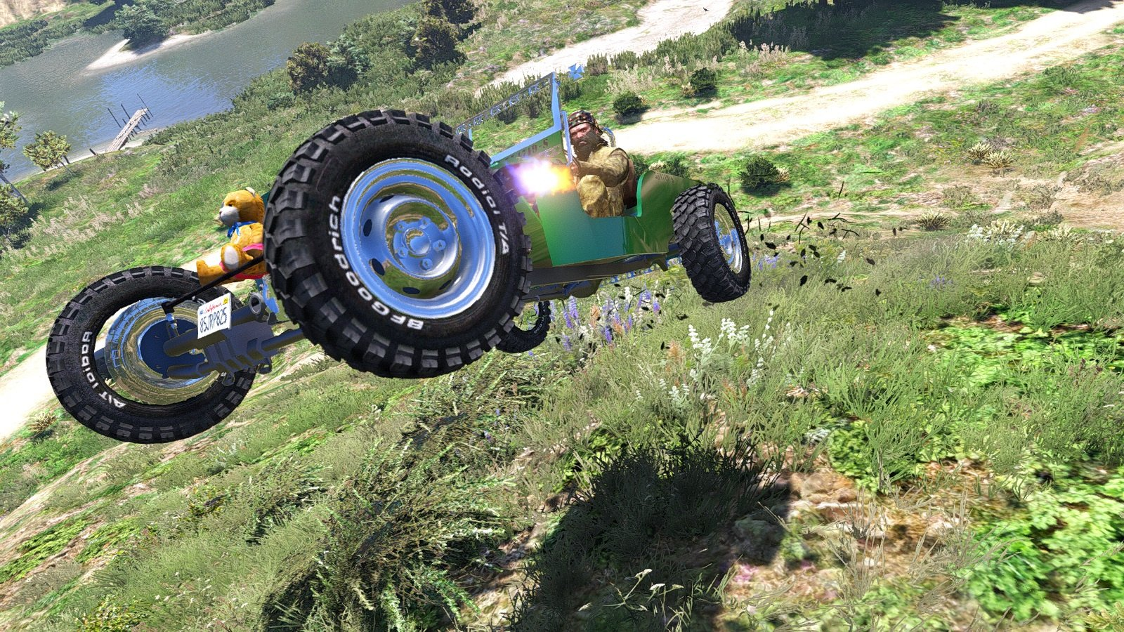 Jeep Willys Hot Rod Replace Gta5 Mods Com