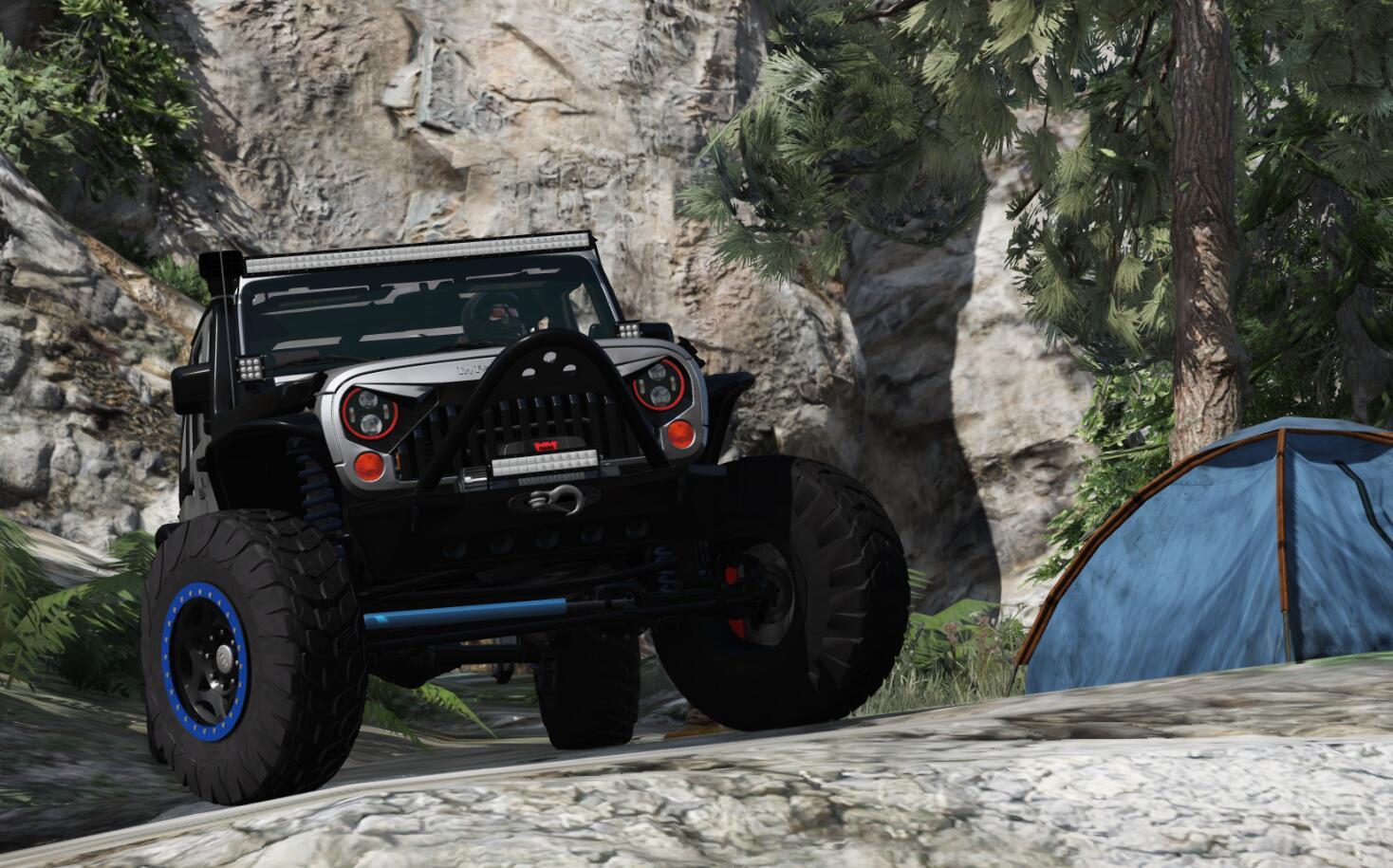 Jeep Wrangler 2012 Rubicon GTA5 Mods