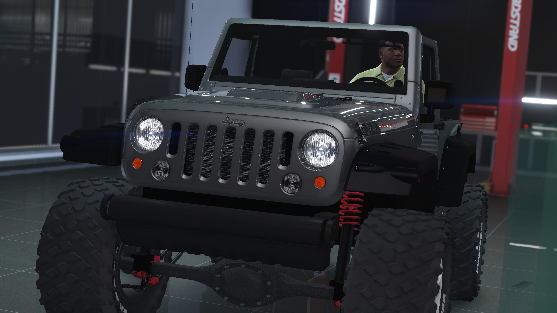 jeep wrangler rubicon hq tuning livery gta5modscom