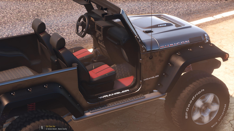 Jeep Rubicon 2017 Tuning >> Jeep Wrangler (Rubicon) [HQ | Tuning | Livery] - GTA5-Mods.com