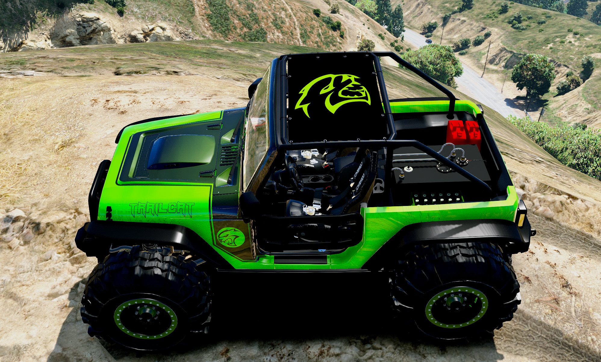 Jeep Wrangler Trailcat Concept 2016 Add On Replace