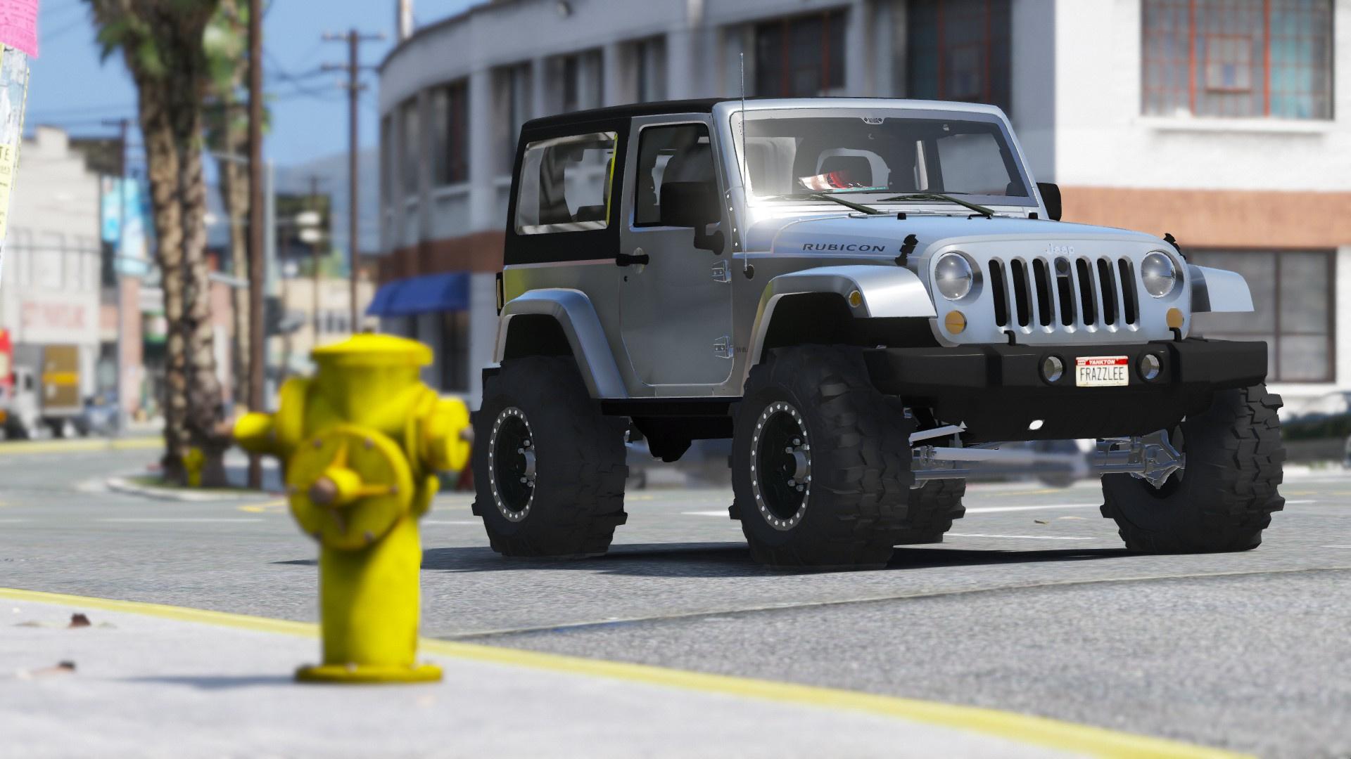 Jeep Wrangler Unlimited 3 Door Jk 2013 Add On Tuning