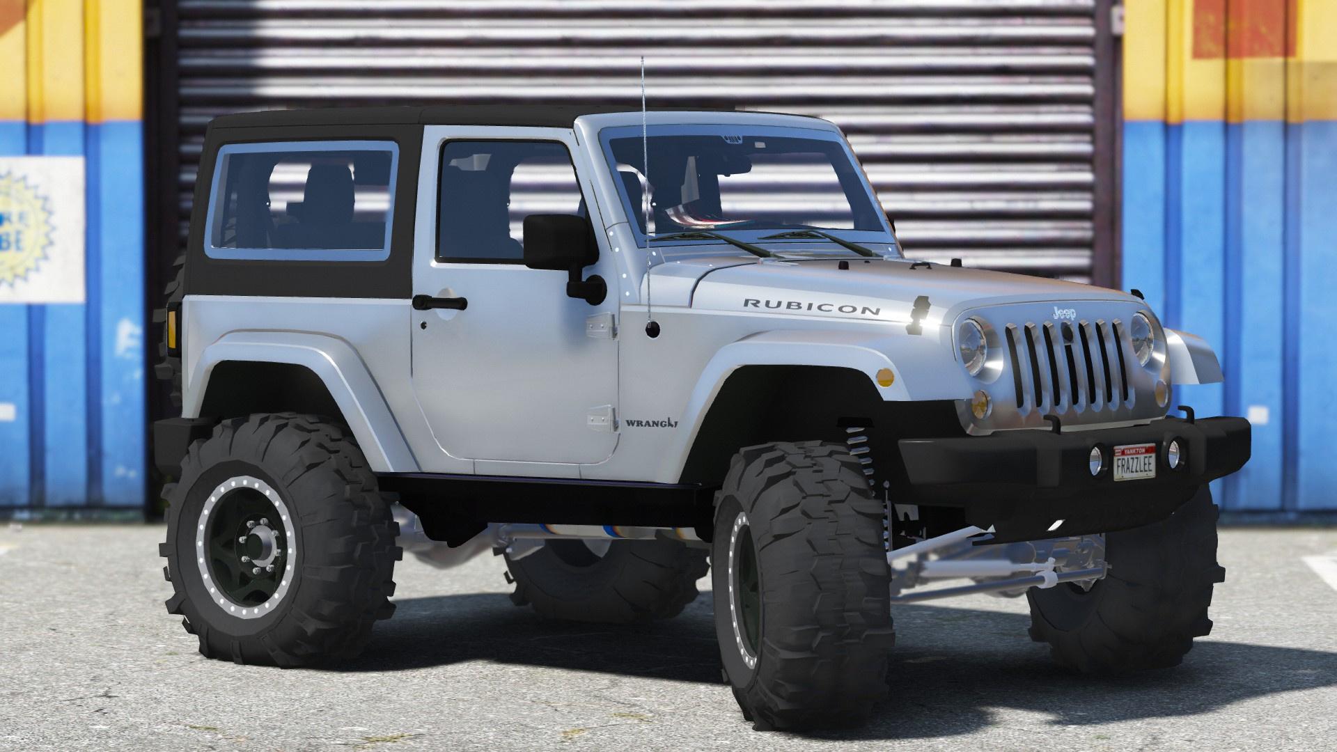 Jeep Wrangler Unlimited 3 Door JK 2013 Add