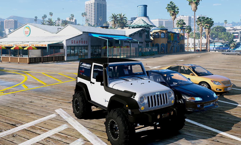Jeep Wrangler Unlimited 3 Door JK 2013 [Add-On | Tuning ...
