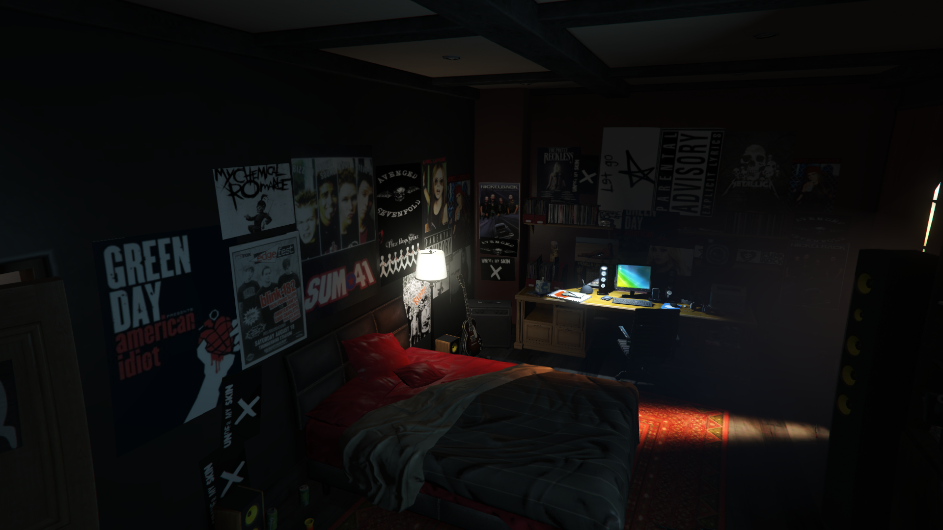 jimmy  tracy room retexture gta modscom