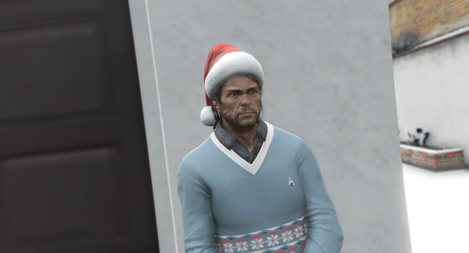 christmas clothes for john marston