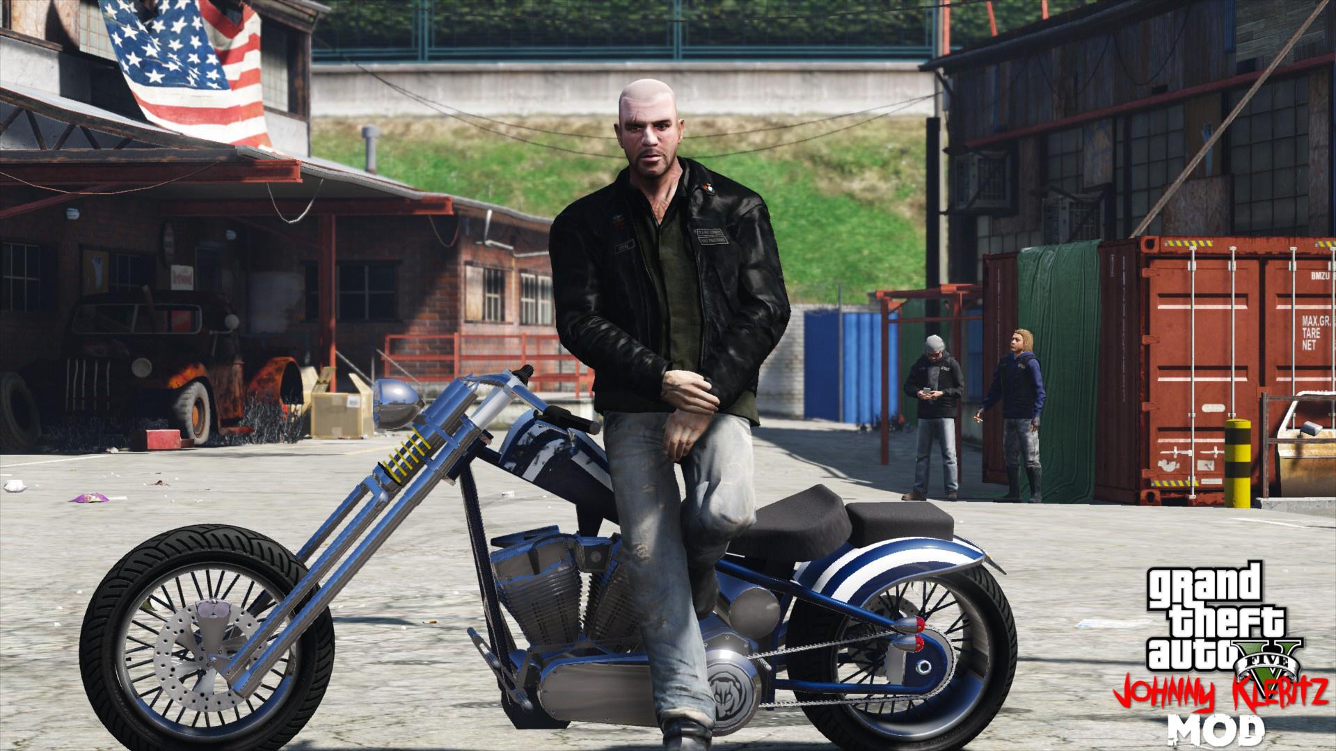 Johnny Klebitz - GTA5-Mods com