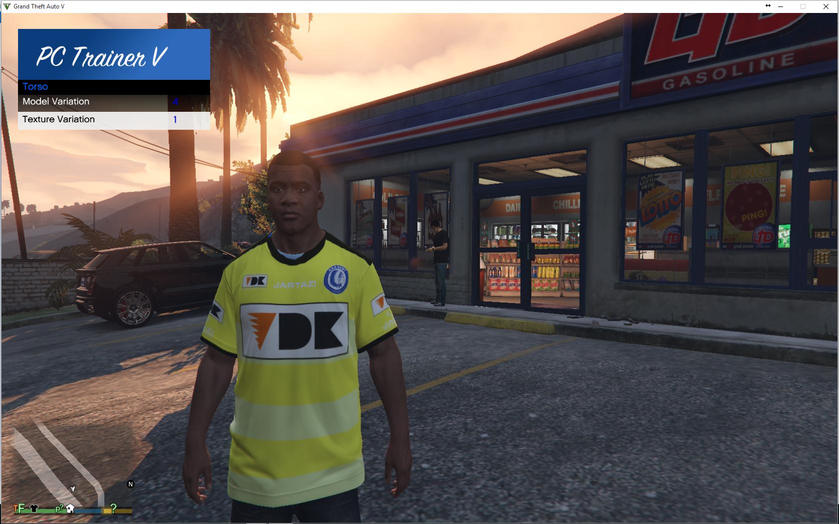 Kaa Gent Soccer Shirt Pack Gta5 Modscom