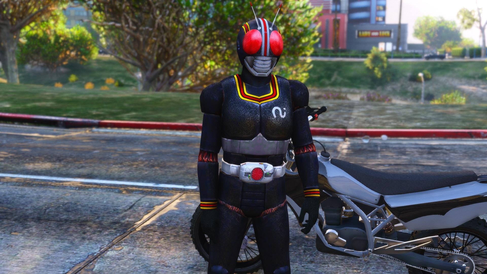 Kamen Rider Black [Add-On Ped] - GTA5-Mods com