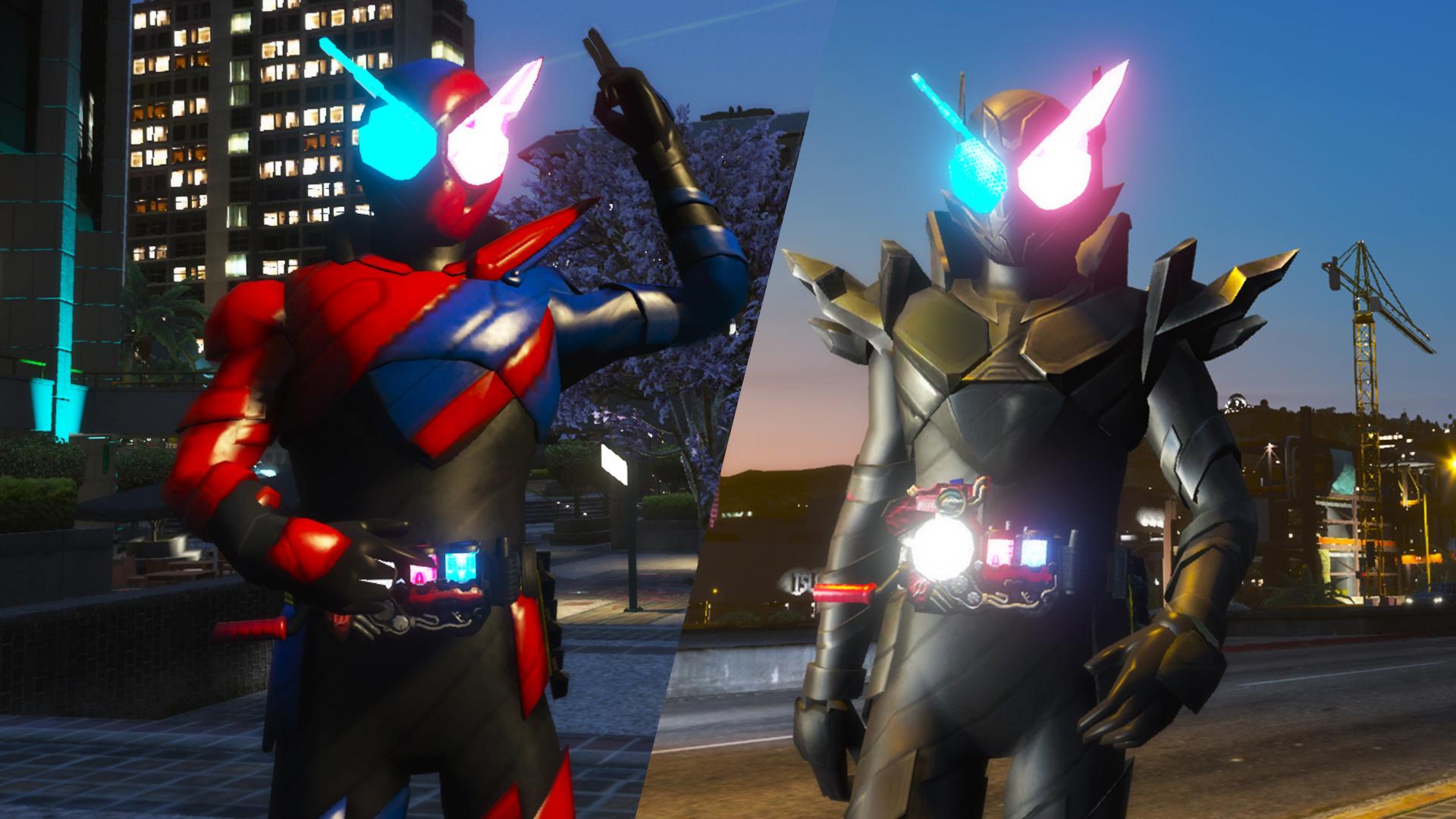 Kamen Rider Build Gta5 Mods Com