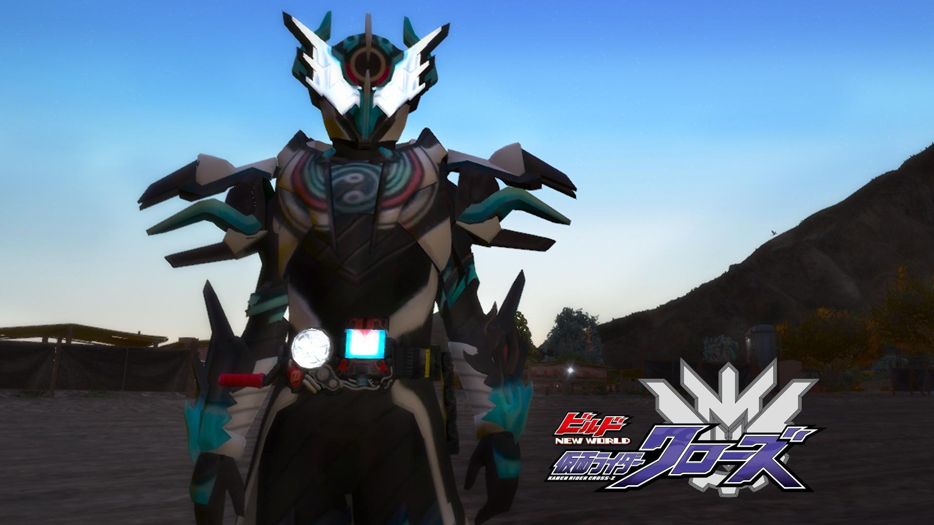 Kamen Rider Cross Z Evol Form Gta5 Mods Com