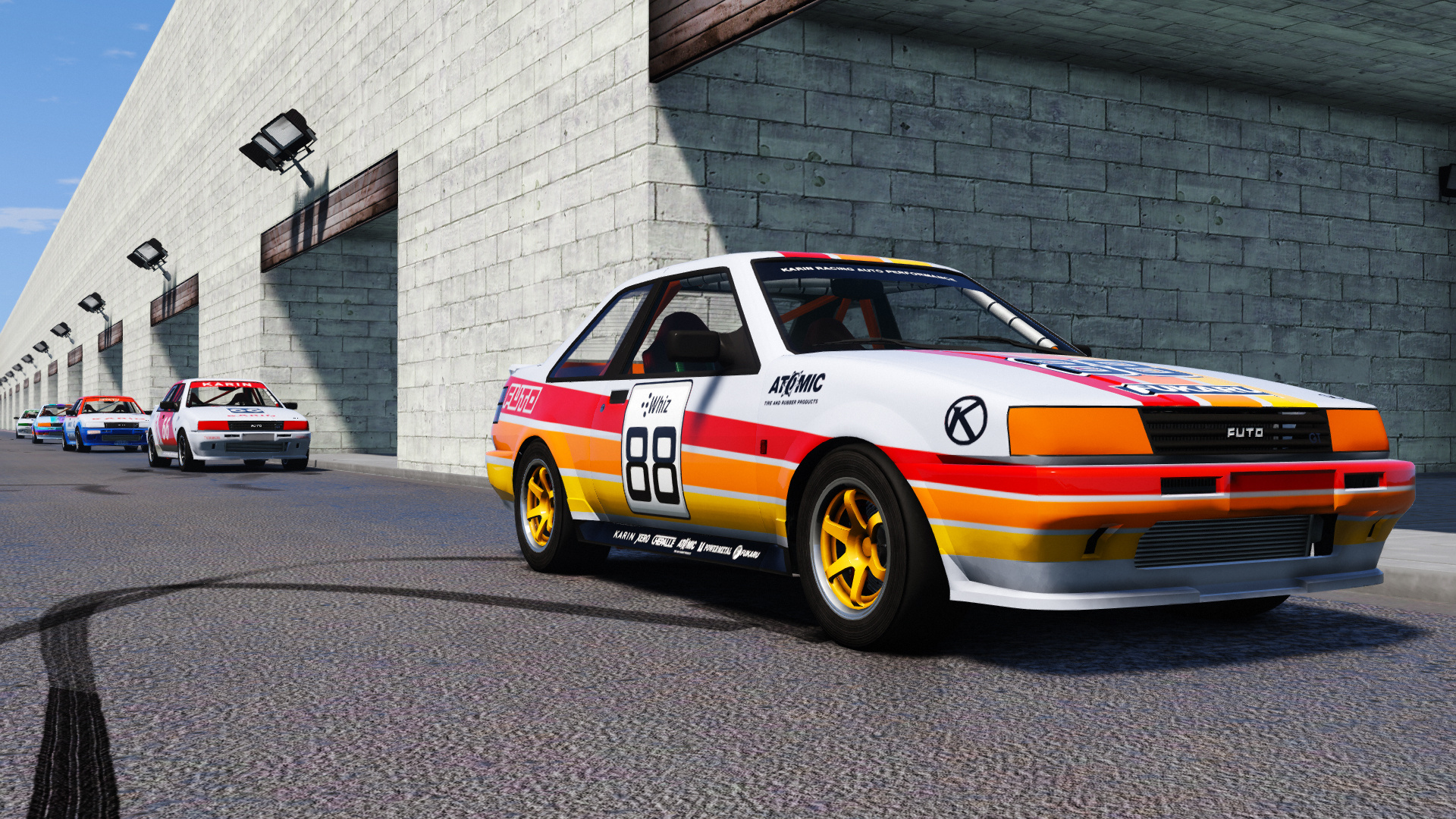 Karin Futo JTCC [Add-On / Replace | Livery | Template