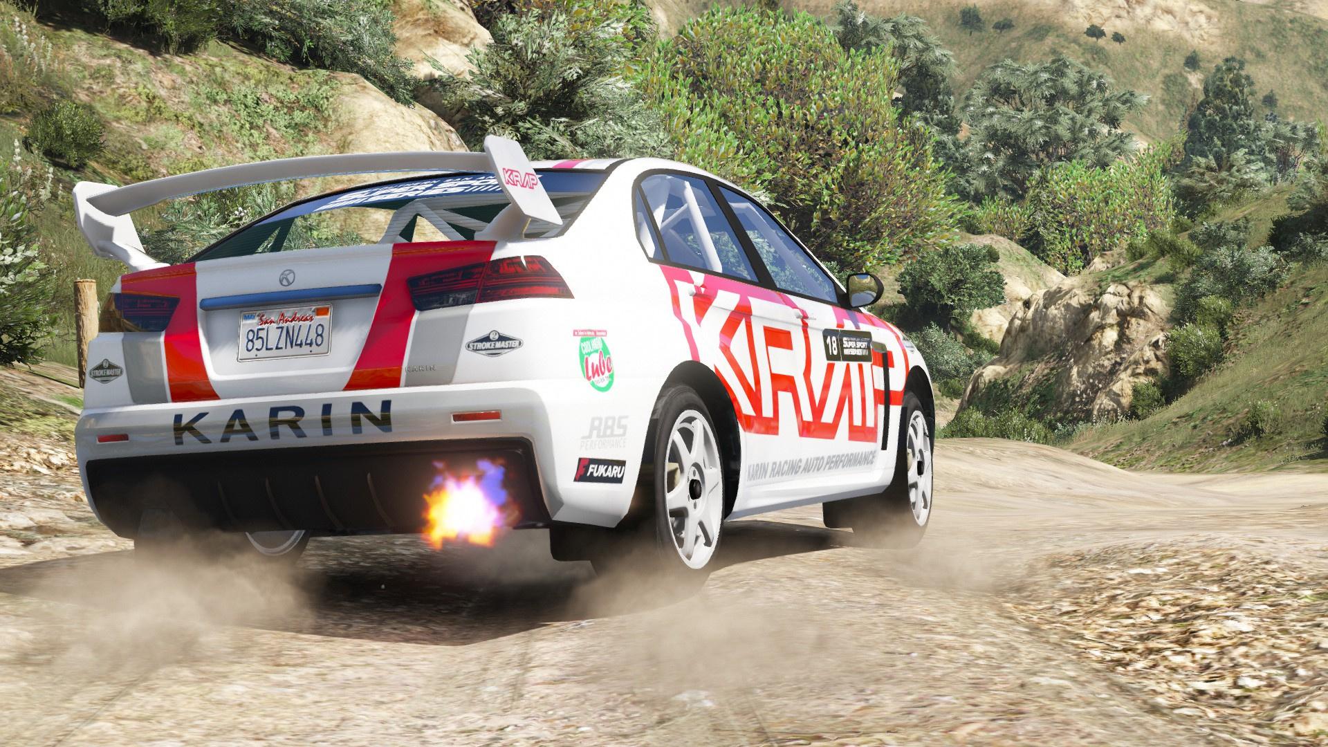 Karin Kuruma Rally [ A...