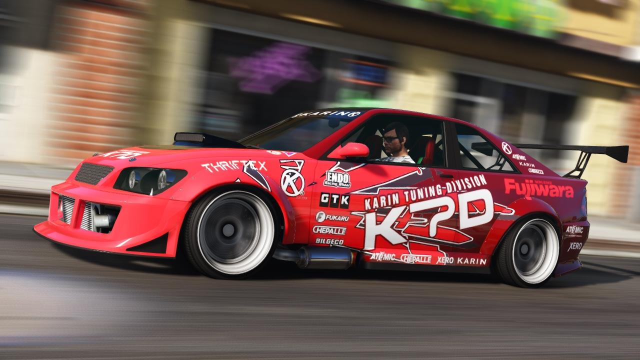 Karin Sultan RS KTD Drift-Spec - GTA5-Mods.com
