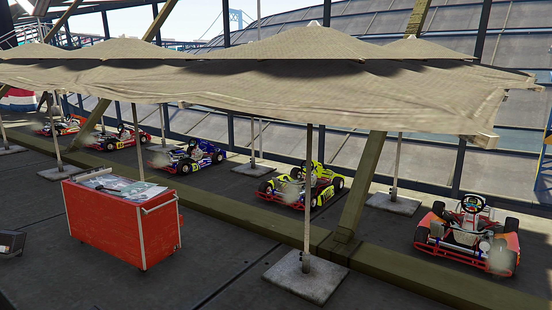 Karting Honda CR 125 [Addon/Replace] - GTA5-Mods com