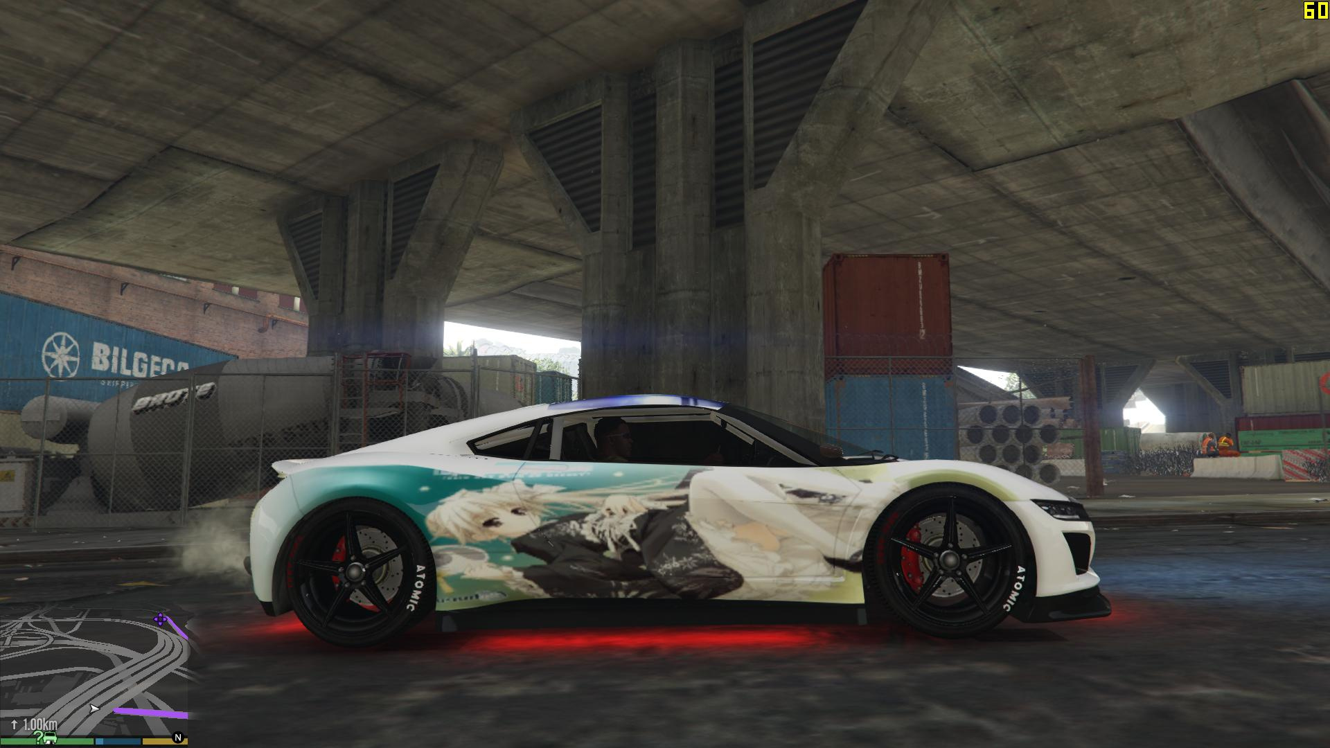 Kasugano Sora paint job - GTA5-Mods.com