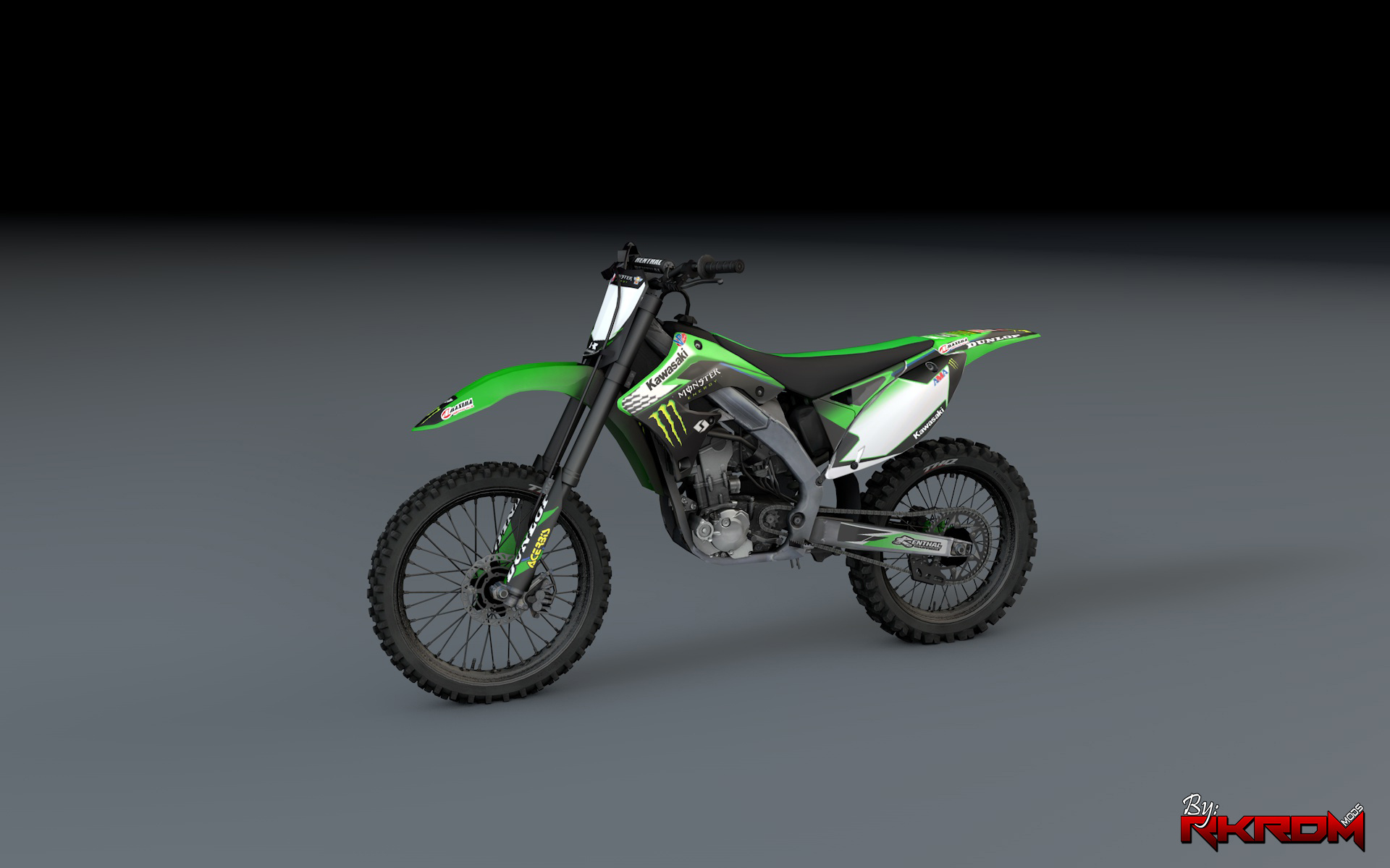 Kawasaki Kx450f Monster Energy Livery Gta5 Modscom