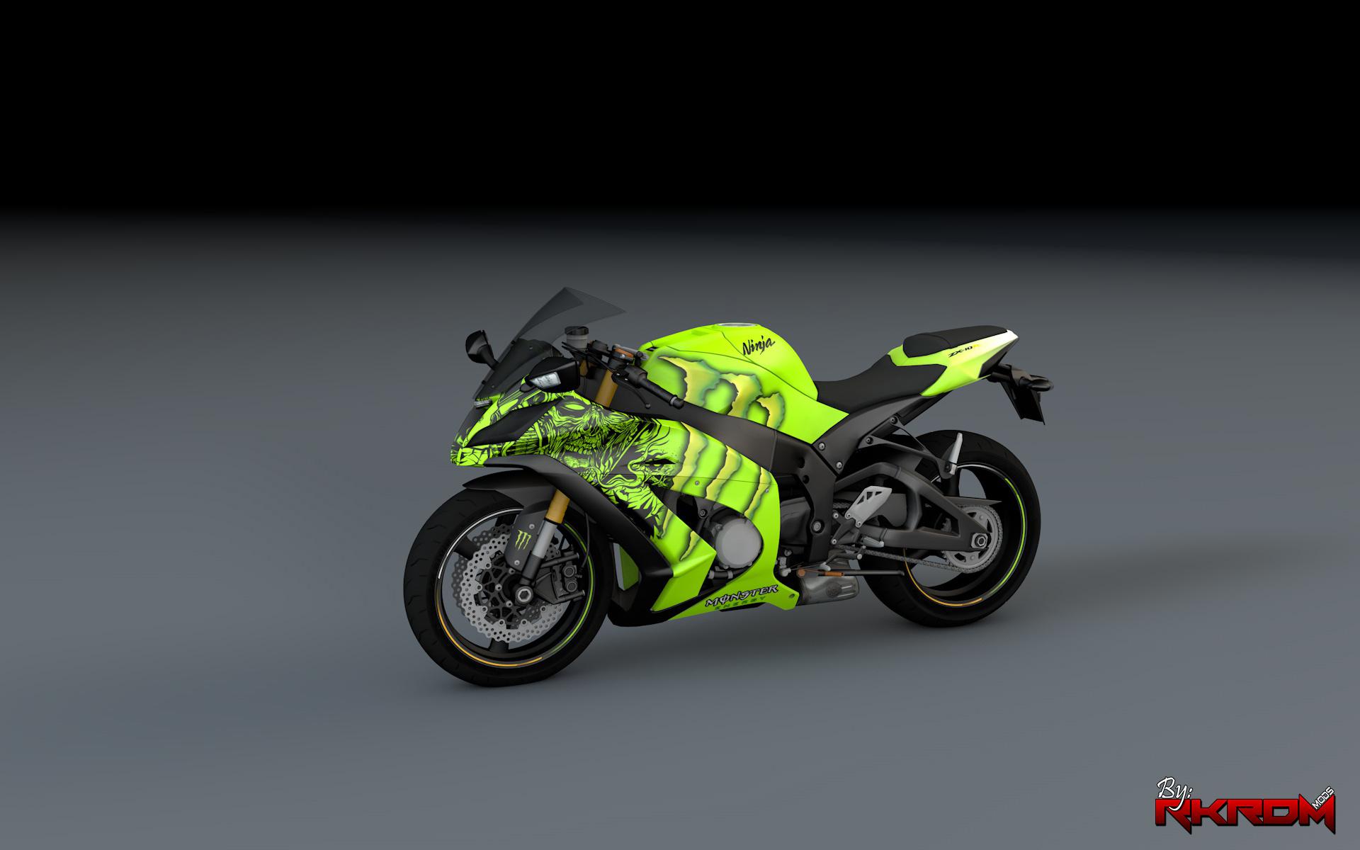 Kawasaki Ninja Zx R Monster Energy