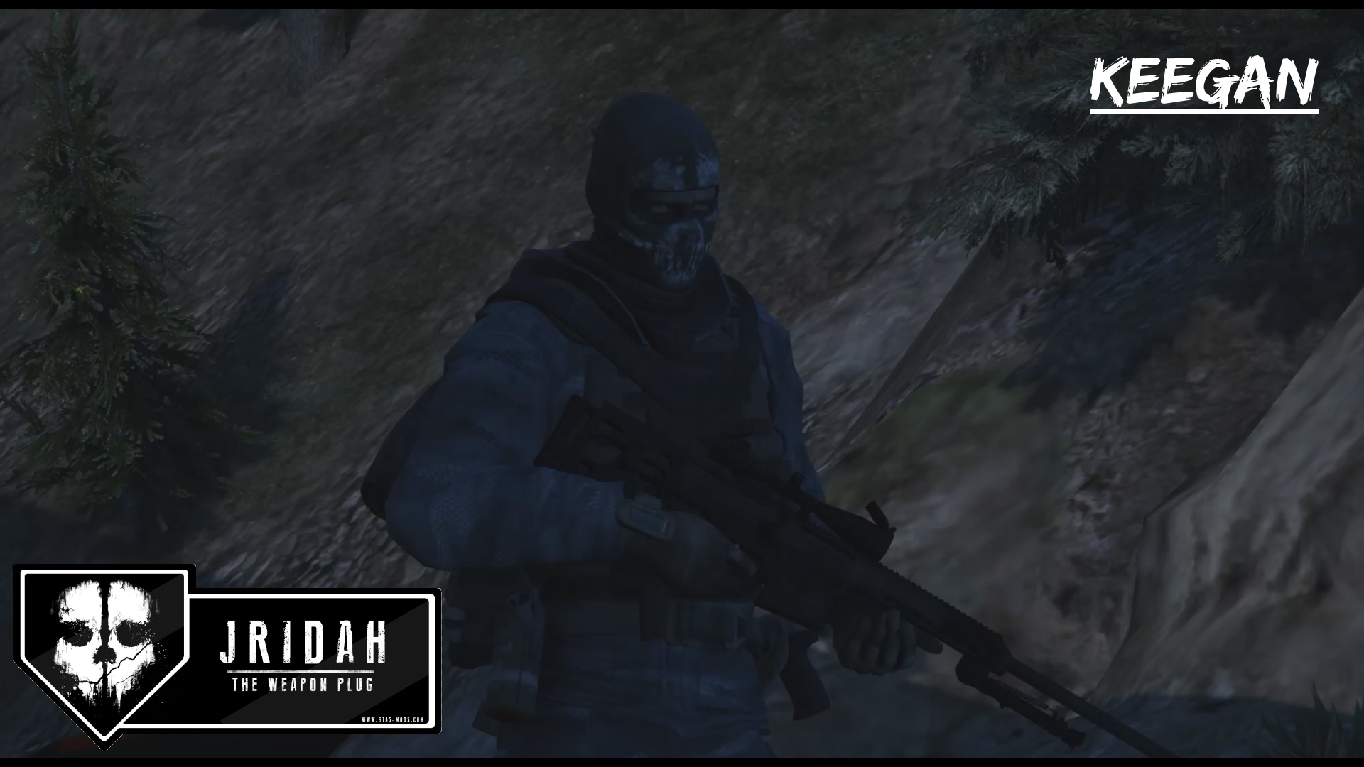 Keegan cod ghosts i sniper outfit gta5 mods keegan cod ghosts i sniper outfit sciox Images