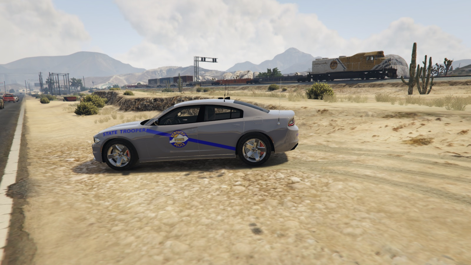 Kentucky State Police 2015 Dodge Charger Skin Gta5 Mods Com