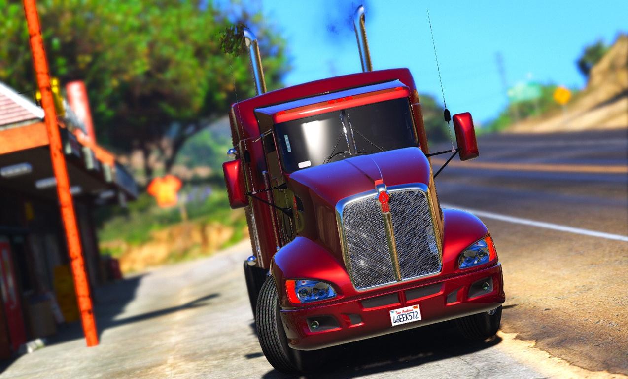 Kenworth T660 для GTA V - Скриншот 2