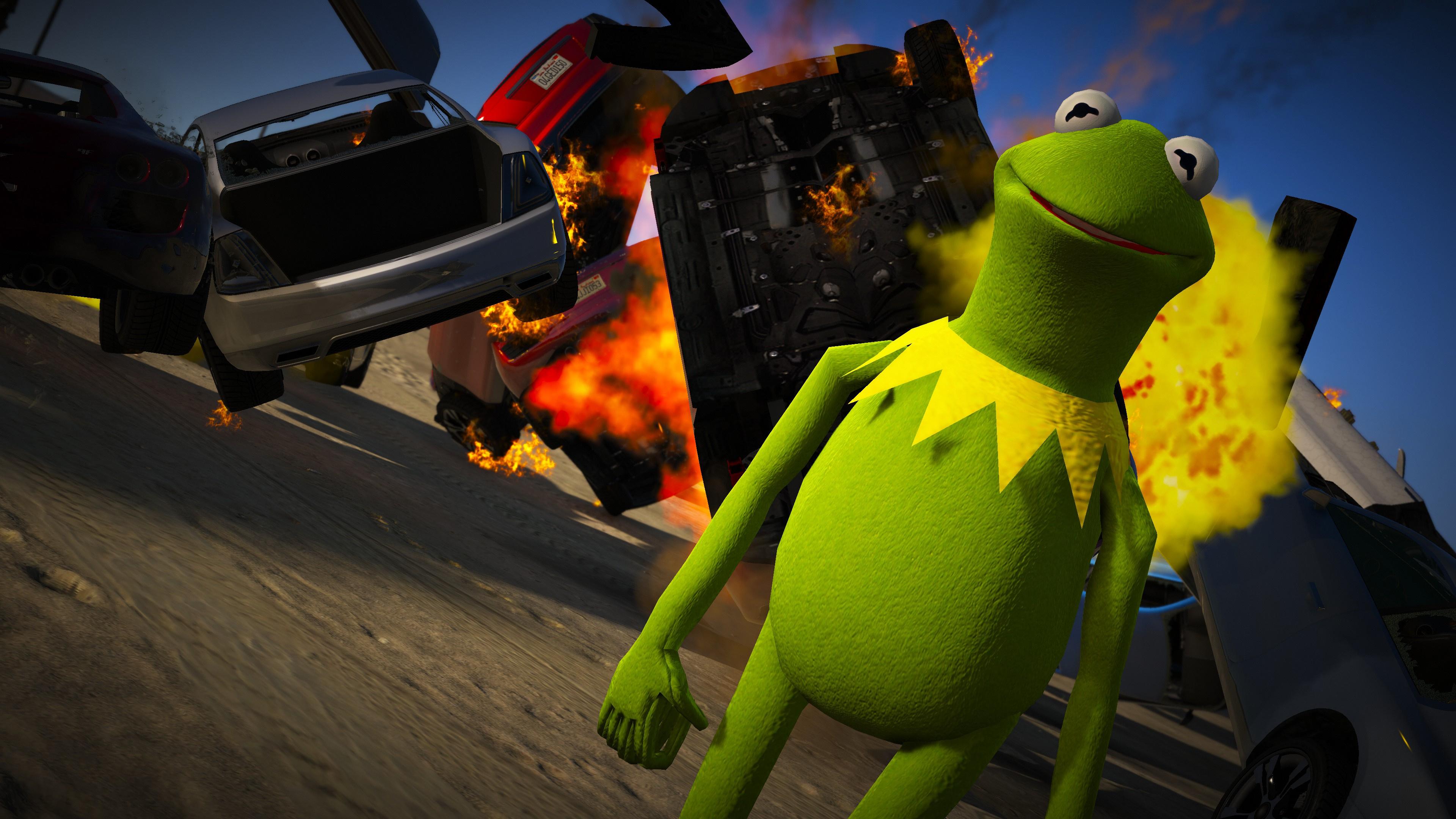 Kermit The Frog Gta5 Mods Com