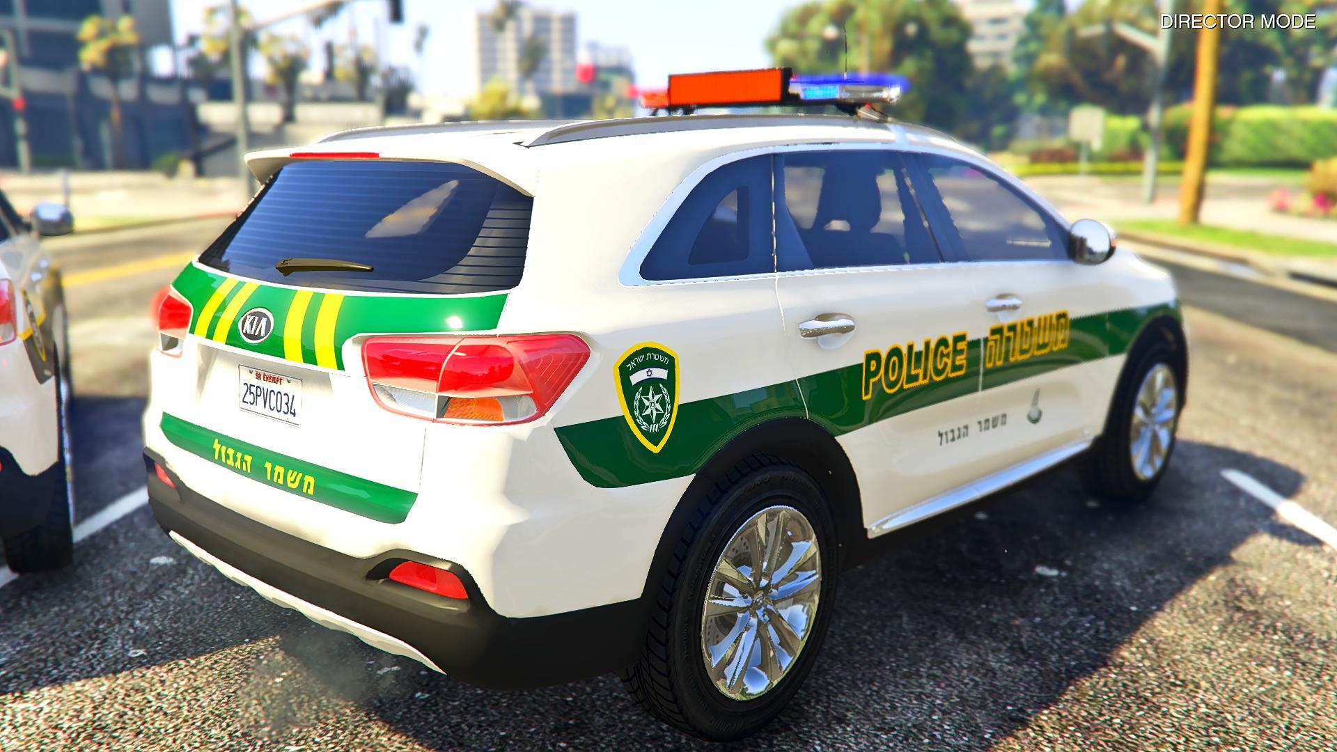 ברצינות Kia Sorento UM 2015 | Israeli Police livery + Israeli Border NB-72