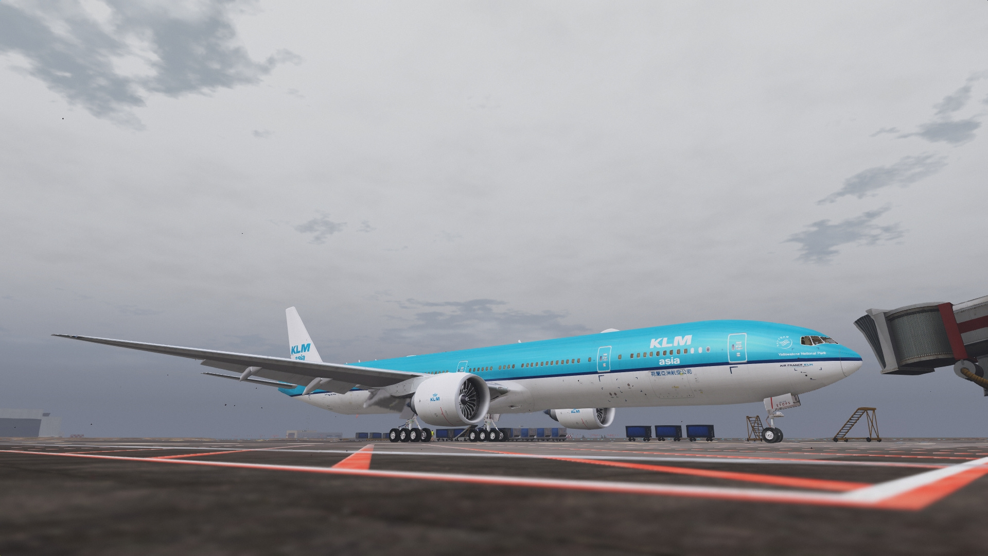 KLM Livery Pack for Boeing 777-300ER - GTA5-Mods com