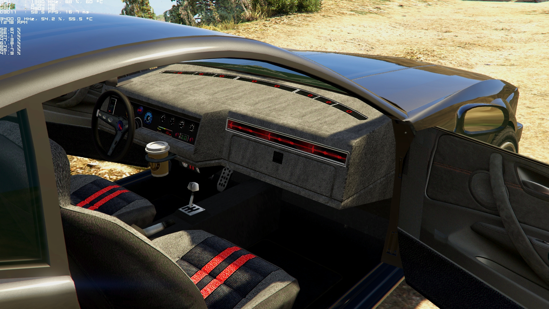 dominator hd textures for knight rider mod gta5. Black Bedroom Furniture Sets. Home Design Ideas