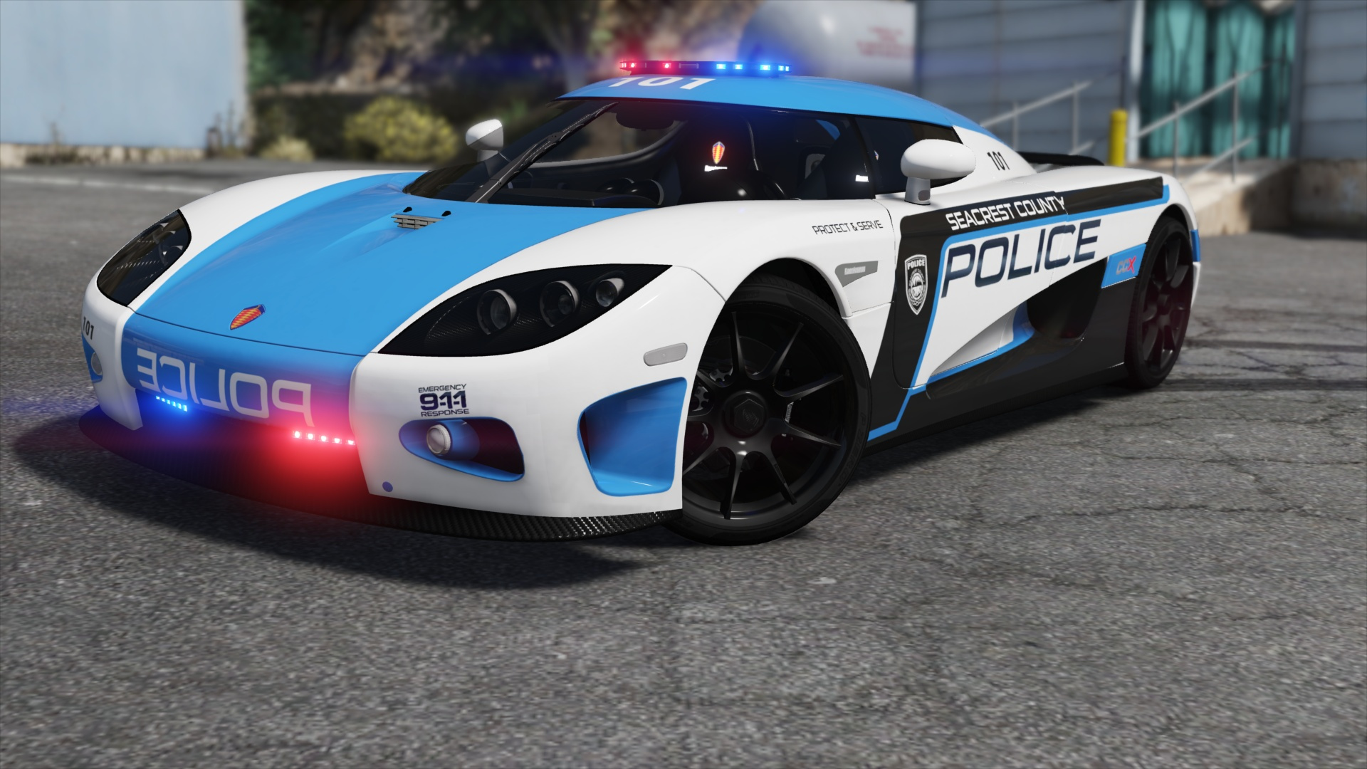 Hot Pursuit Police [Add-On / Replace