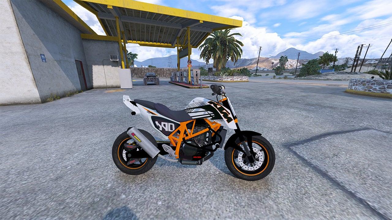 Ktm Duke 690 Street Edition Gta5 Mods Com