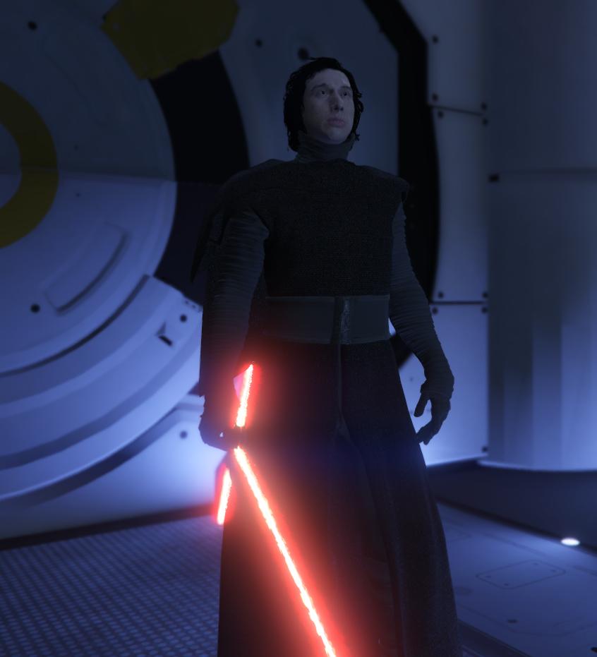 Kylo Ren The Force Awakens Swbf2 Gta5 Mods Com