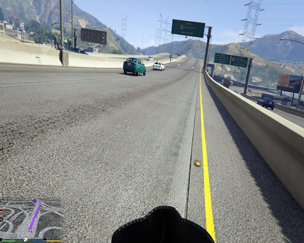 L A  Roads - GTA5-Mods com